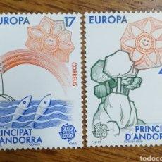 Sellos: ANDORRA N°191/92 MNH (FOTOGRAFÍA REAL). Lote 218351603