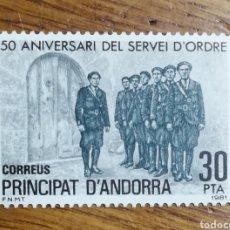 Sellos: ANDORRA N°142 MNH, 1981 (FOTOGRAFÍA REAL). Lote 199422100