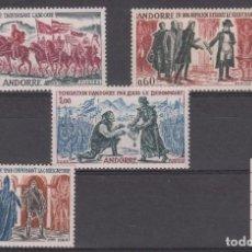 Sellos: ANDORRE - ANDORRA FRANCESA - NUMS. 167 - 170 NUEVOS SIN FIJASELLOS . Lote 199618185