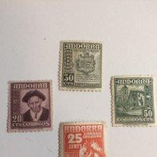 Sellos: SELLOS ANDORRA 1948 - 1949 MNH. Lote 202276630