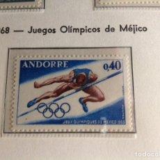 Sellos: 1968 SELLO DE ANDORRA FRANCESA EDIFIL NUM.210. Lote 202439443