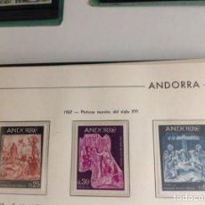 Sellos: 1967 SELLOS ANDORRA FRANCESA EDIFIL NUM.204/206 NUEVOS. Lote 202440095