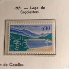 Sellos: 1961/1971 SELLO DE ANDORRA FRANCESA EDIFIL NUM 234. NUEVO. Lote 202441360