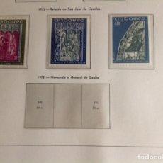 Sellos: 1972 SELLOS ANDORRA FRANCESA EDIFIL NUM.242/244. Lote 202443001