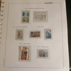 Sellos: 1978 SELLOS ANDORRA FRANCESA NUEVOS. AÑO COMPLETO. Lote 202444018