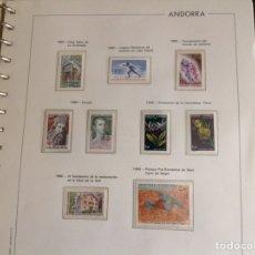 Sellos: 1980 SELLO DE ANDORRA FRANCESA NUEVOS. AÑO COMPLETO. Lote 202446708