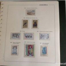 Sellos: 1981 SELLO DE ANDORRA FRANCESA NUEVOS. AÑO COMPLETO. Lote 202447130