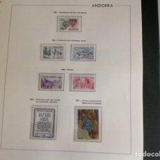 Sellos: 1983 SELLOS DE ANDORRA FRANCESA NUEVOS. AÑO COMPLETO. Lote 202449018