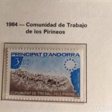 Sellos: 1984 SELLOS DE ANDORRA FRANCESA NUEVOS EDIFIL NUM.349. Lote 202450755