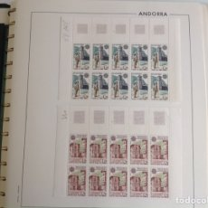 Sellos: 1979 ANDORRA FRANCESA. EUROPA BLOQUE DE 10. Lote 203280735