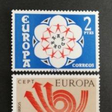 Sellos: ANDORRA ESPAÑOLA MNH, EUROPA CEPT 1973 MNH (FOTOGRAFÍA REAL). Lote 204118218