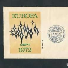 Sellos: SELLO ANDORRA EUROPA CEPT 1972** SELLO NUEVO Y SOBRE DE PRIMER DIA. Lote 204173347