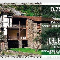 Sellos: SPANISH ANDORRA 2020 - OPENING OF THE SOCIO-CULTURAL CAL PAL IN LA CORTINADA MNH. Lote 207135717