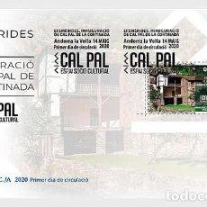 Sellos: SPANISH ANDORRA 2020 - OPENING OF THE SOCIO-CULTURAL CAL PAL IN LA CORTINADA MNH. Lote 207135820