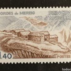 Sellos: ANDORRA FRANCESA, BORDES DE MEREIG 1981 MNH (FOTOGRAFÍA REAL). Lote 207201226