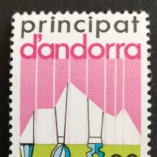 Sellos: ANDORRA N°182 MNH, AÑO 1983 (FOTOGRAFÍA REAL). Lote 209785543