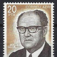 Sellos: ANDORRA 1983 - VEGUER EPISCOPAL, JAUME SANSA, AÉREO - SELLO NUEVO **. Lote 210131136
