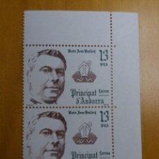 Sellos: ANDORRA, 13 PTAS, JOAN BENLLOCH, AÑO 1979, SIN USAR.. Lote 212933066