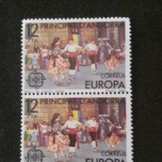 Sellos: ANDORRA, 12 PTAS, TRADICIONES, AÑO,1972, SIN USAR.. Lote 213012350