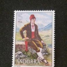 Sellos: ANDORRA, 5 PTAS, TRADICIONES, AÑO,1979, SIN USAR.. Lote 213012892