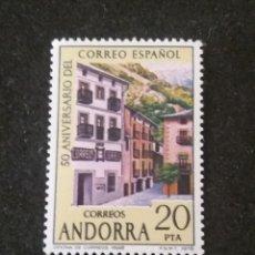 Sellos: ANDORRA, 20 PTAS, CORREO ESPAÑOL, AÑO,1978, SIN USAR.. Lote 213013952