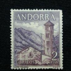 Sellos: ANDORRA, 2 PTAS, SANTA COLOMA, AÑO,1964, SIN USAR.. Lote 213014632