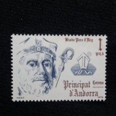 Sellos: ANDORRA, 1 PTAS, PARED ARG, AÑO,1979, SIN USAR.. Lote 213015107