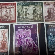 Sellos: SELLOS CON GOMA ORIGINAL DE ANDORRA W002. Lote 214100635