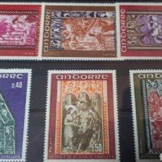 Sellos: SELLOS CON GOMA ORIGINAL DE ANDORRA W004. Lote 214100803