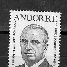 Selos: ANDORRA FRANCESA Nº 249 (**). Lote 285755428