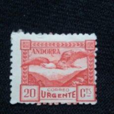 Sellos: PRINCIPADO ANDORRA, ESPAÑA, 10 CENTS, CORREO URGENTE, AÑO 1938. SIN USAR. Lote 216902855