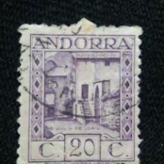 Sellos: PRINCIPADO ANDORRA, ESPAÑA, 20 CTS, PAISAJES, AÑO 1929.. Lote 216903872
