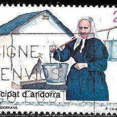 Sellos: ANDORRA 1992. TIPOS ANDORRANOS. EDIFIL 229. Lote 218731492