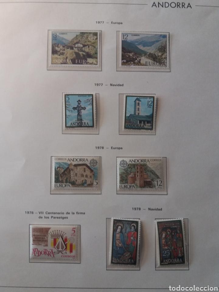 Sellos: Álbum Andorra 1977-2000 - Foto 2 - 219713255