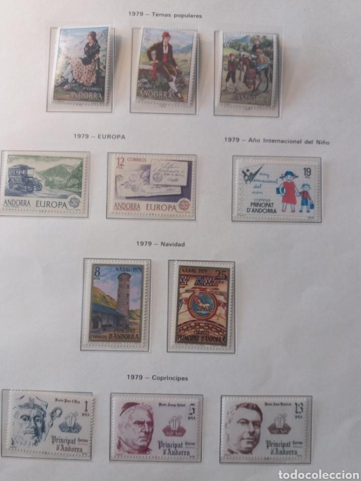 Sellos: Álbum Andorra 1977-2000 - Foto 3 - 219713255
