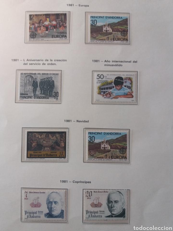 Sellos: Álbum Andorra 1977-2000 - Foto 5 - 219713255