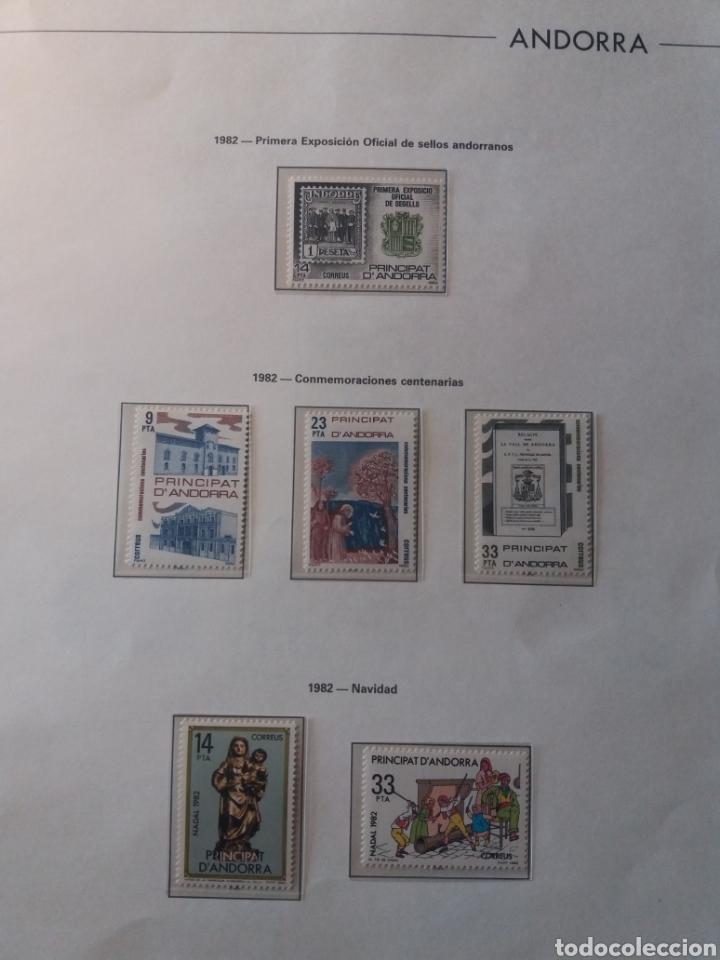 Sellos: Álbum Andorra 1977-2000 - Foto 8 - 219713255