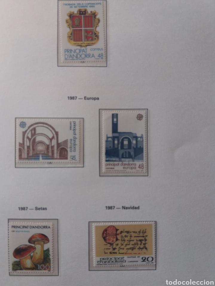 Sellos: Álbum Andorra 1977-2000 - Foto 13 - 219713255