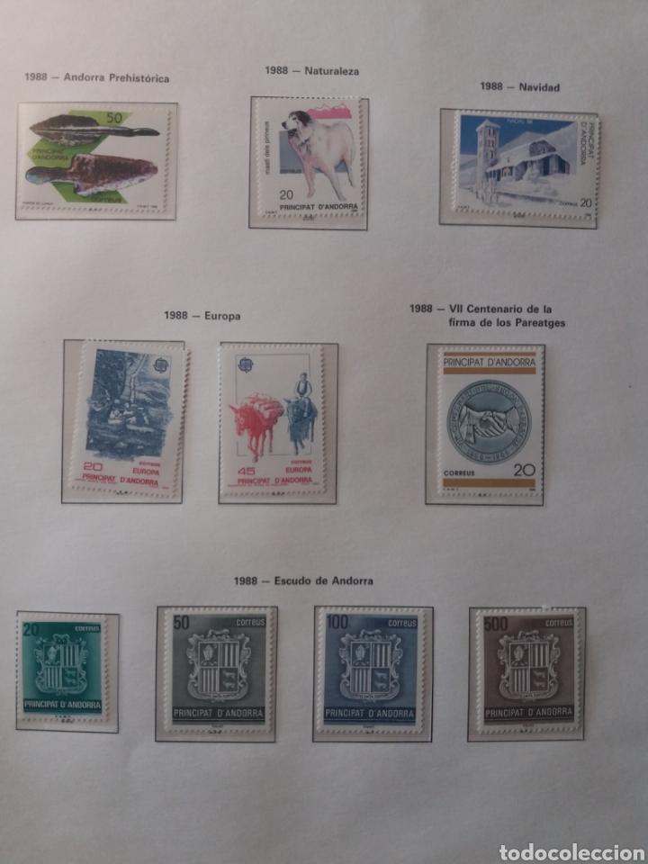 Sellos: Álbum Andorra 1977-2000 - Foto 15 - 219713255