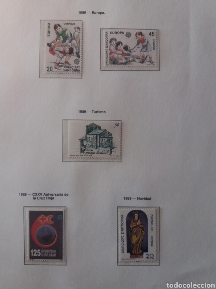 Sellos: Álbum Andorra 1977-2000 - Foto 16 - 219713255