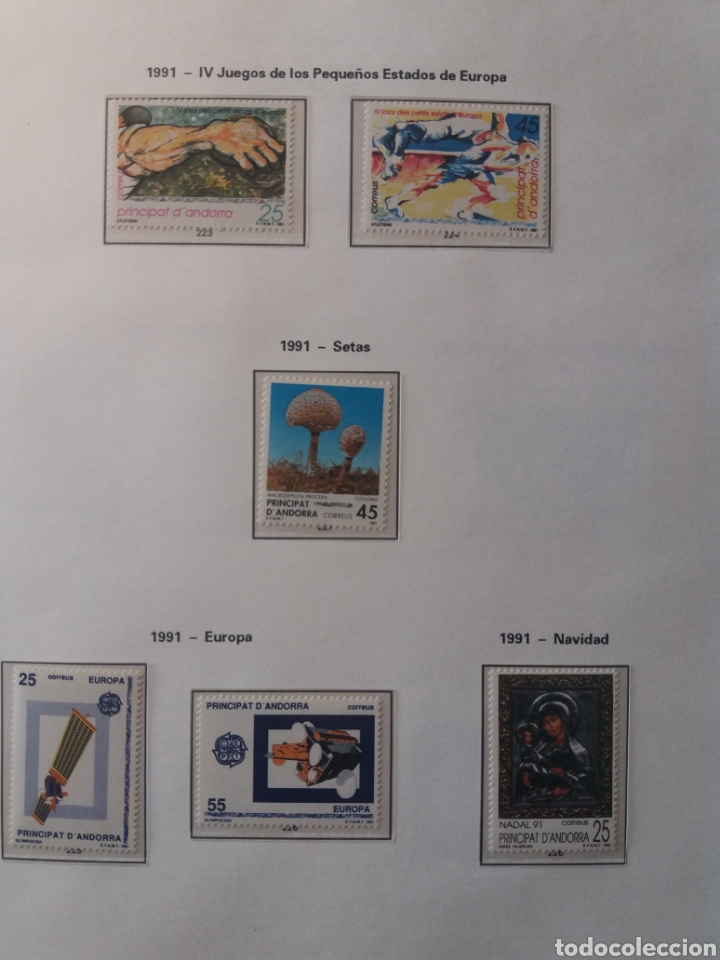 Sellos: Álbum Andorra 1977-2000 - Foto 18 - 219713255