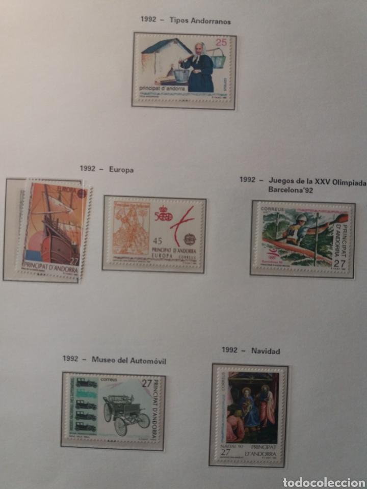 Sellos: Álbum Andorra 1977-2000 - Foto 19 - 219713255