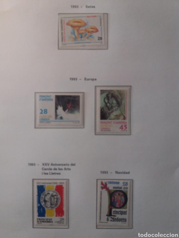 Sellos: Álbum Andorra 1977-2000 - Foto 20 - 219713255