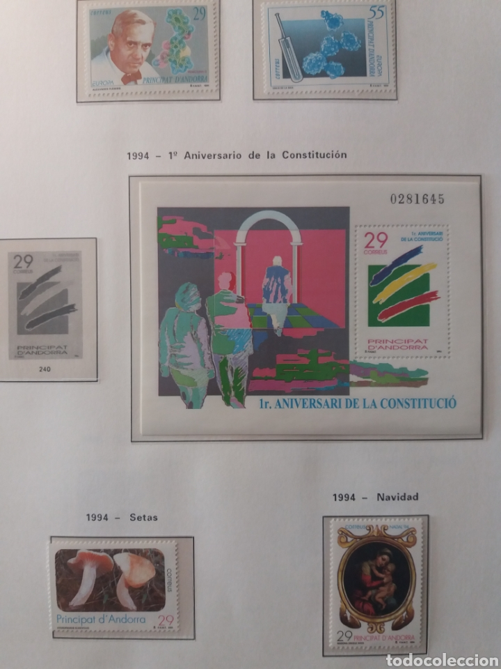 Sellos: Álbum Andorra 1977-2000 - Foto 21 - 219713255