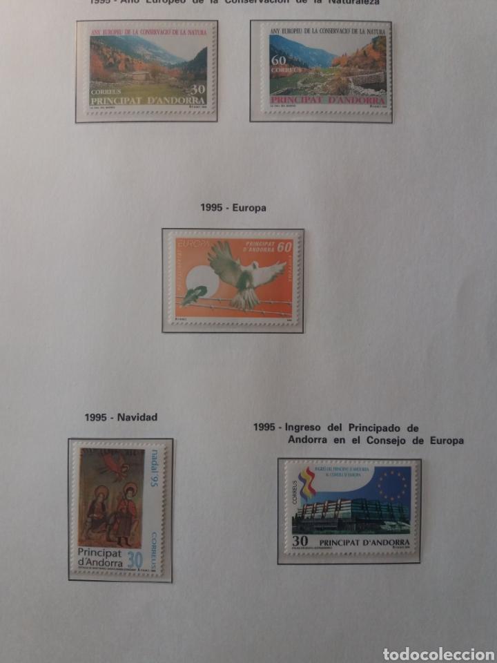 Sellos: Álbum Andorra 1977-2000 - Foto 22 - 219713255