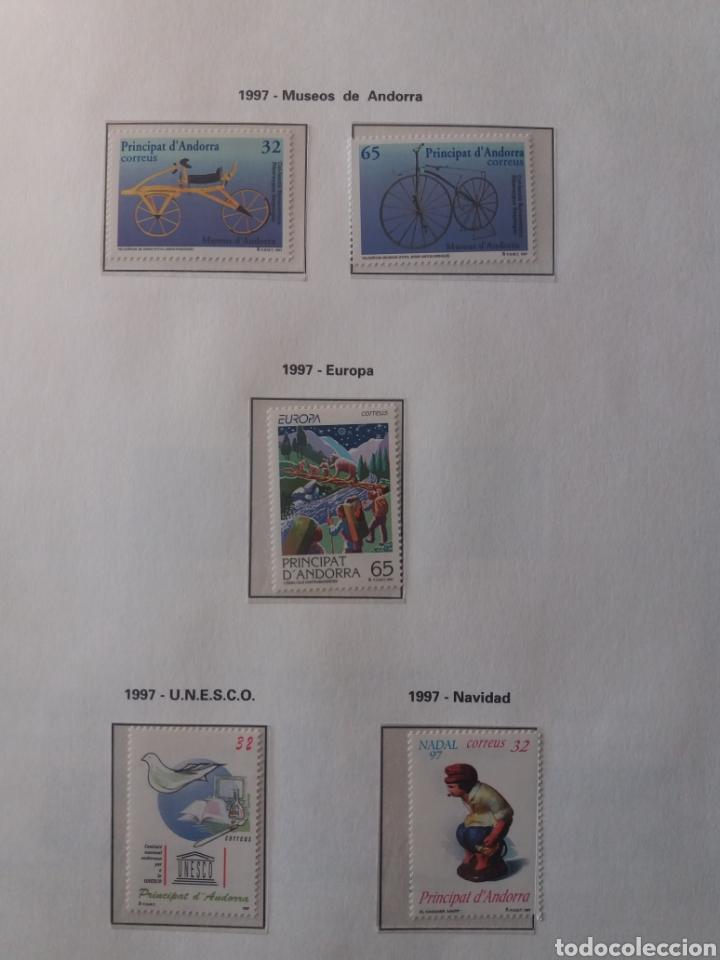 Sellos: Álbum Andorra 1977-2000 - Foto 24 - 219713255