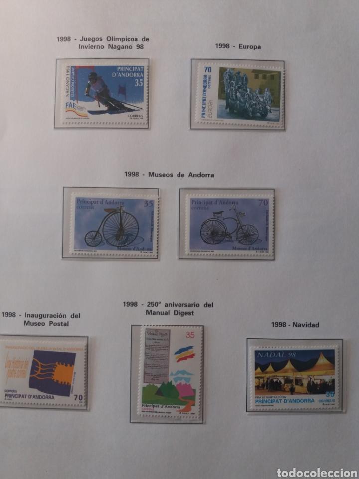 Sellos: Álbum Andorra 1977-2000 - Foto 25 - 219713255