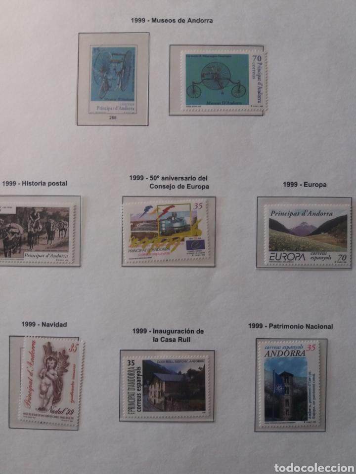 Sellos: Álbum Andorra 1977-2000 - Foto 26 - 219713255
