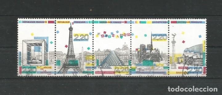 SELLOS DE FRANCIA AÑO 1989. SERIE Nº 2579/2583 CATÁLOGO YVERT. USADA (Sellos - Extranjero - Europa - Andorra)