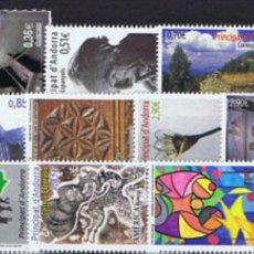 Sellos: ANDORRA, AÑO 2012 COMPLETO Y NUEVO MNH**(FOTOGRAFÍA ESTÁNDAR). Lote 222031433